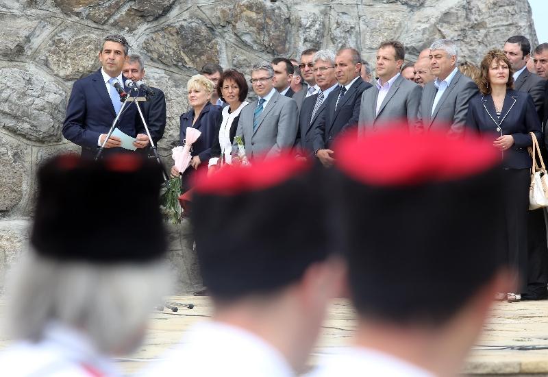 14 августа 2012 г. Президент Росен Плевнелиев, Шипка